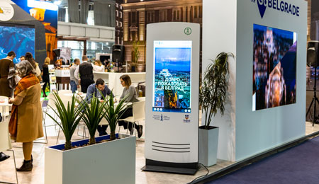 PARTTEAM & OEMKIOSKS Solutions Present at Belgrade Tourism Fair 2020 OEMKIOSKS