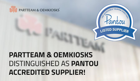 PARTTEAM & OEMKIOSKS Distinguished as Pantou Accredited Supplier OEMKIOSKS