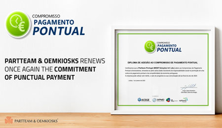 PARTTEAM & OEMKIOSKS Punctual Payment Commitment 2020 OEMKIOSKS