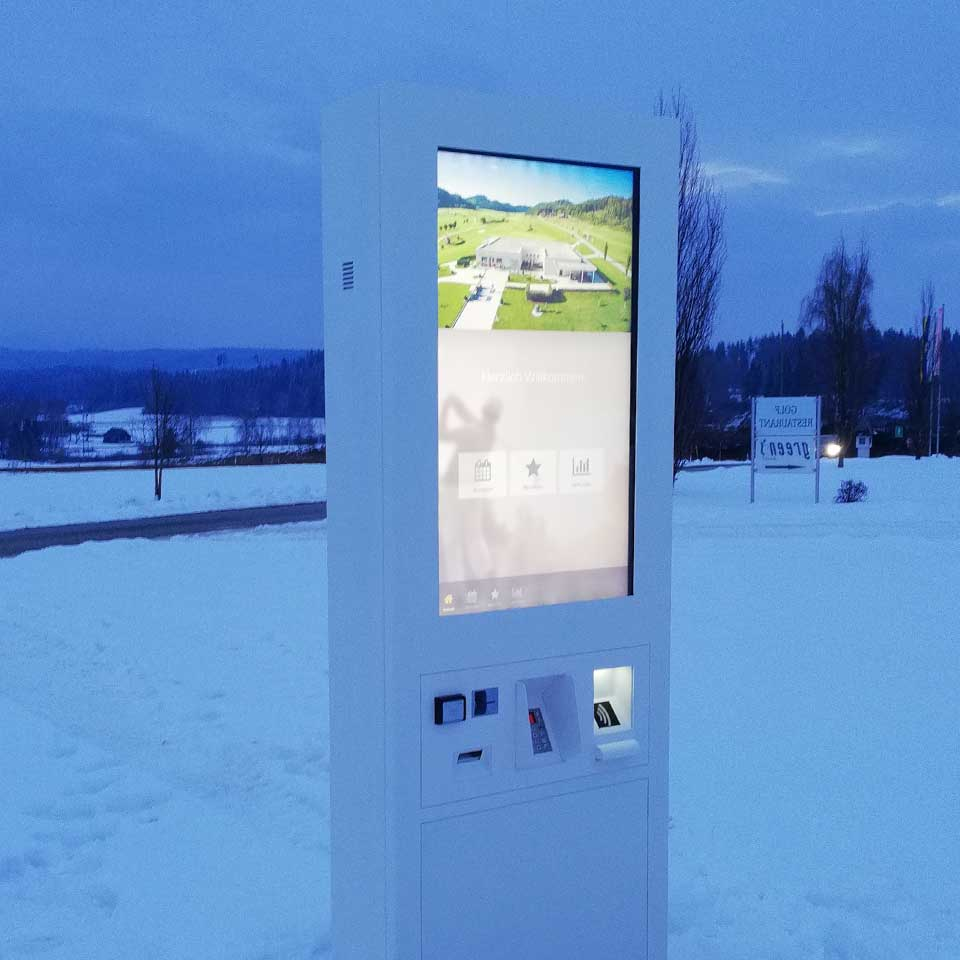 Self-Service Technology for Golf Courses in Austria