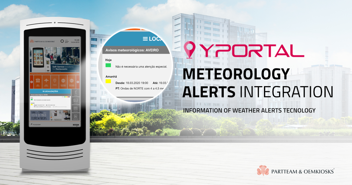 YPORTAL with Meteorology Alerts Integration PARTTEAM Latest News