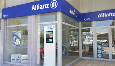 DIGITAL SIGNAGE FOR INSURANCE COMPANY ALLIANZ PORTUGAL OEMKIOSKS