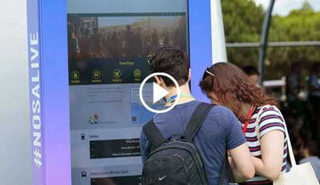 NOS ALIVE 2017: MUSIC WITH THE PORTUGUESE TECHNOLOGY OF PARTTEAM & OEMKIOSKS OEMKIOSKS