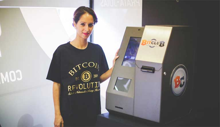 BitClub Network choose our FLYCOIN model OEMKIOSKS