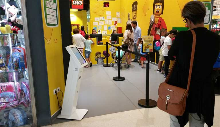 IKEA/LEGO, project of QMAGINE division OEMKIOSKS
