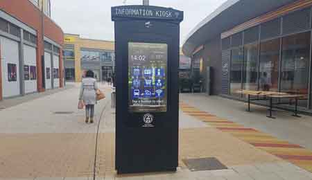 INFORMATION KIOSK: NOMYU PROMOTES TOURISM IN UK OEMKIOSKS