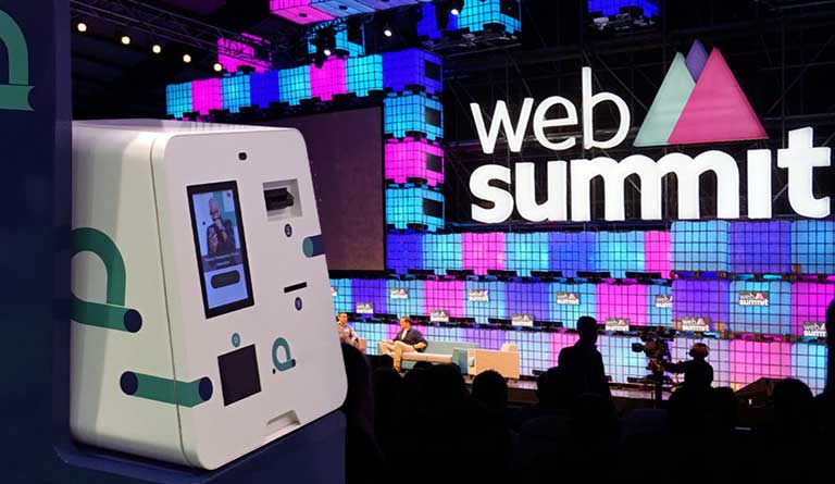 Our products at Web Summit OEMKIOSKS