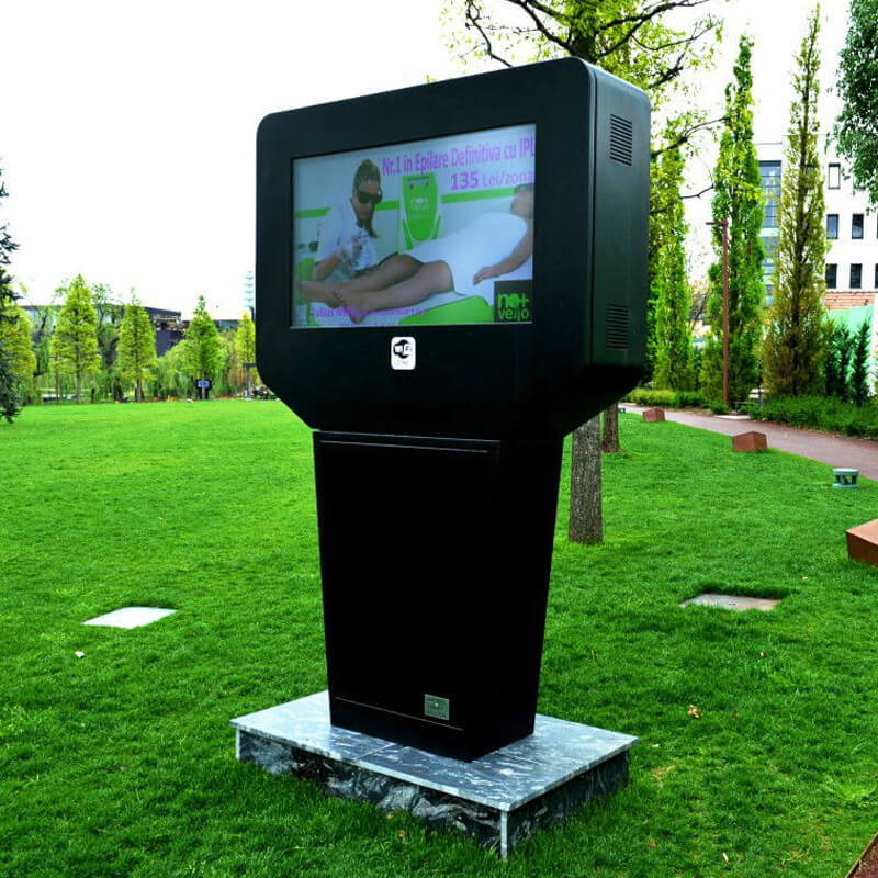 NOMYU Information Kiosks at United Kingdom